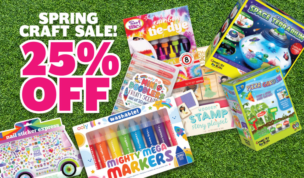 Save 25% Off Select Crafts