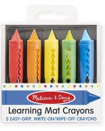 Small Image for LEARNING MAT CRAYONS