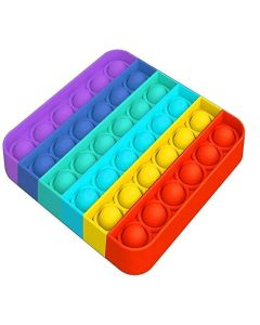 POPIT SQUARE RAINBOW
