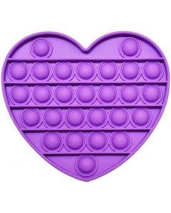POPIT HEART PURPLE
