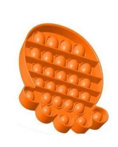 POPIT PAW PRINT ORANGE