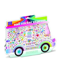 The Nail Sticker Express Truck