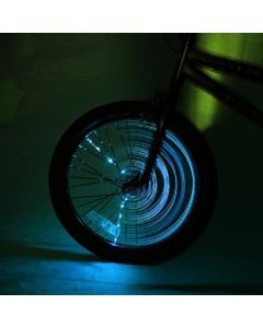 Small Image for SPIN BRIGHTZ WHEEL LIGHTS~BLUE