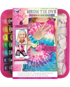 Small Image for Neon Tie Dye FashionDesign