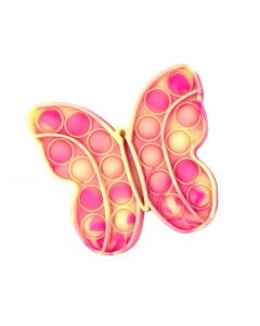 BUTTERFLY CRAZY SNAPSPINK GLOW IN THE DARK