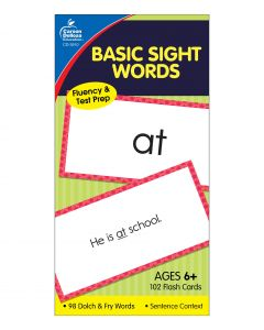 Small Image for SIGHT WORDS FLASHCARDS~AGES 6+