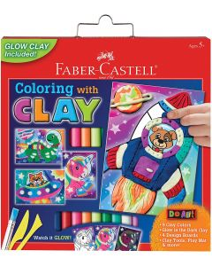 Small Image for Coloring With Clay Kit~Space P