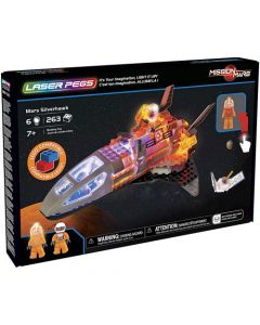 Small Image for LASER PEGS~MARS SILVERHAWK KIT