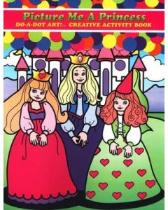 Base Image for DO-A-DOT PRINCESS~ACTIVITY BOO