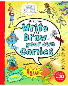 Small Image for WRITE AND DRAW COMICS