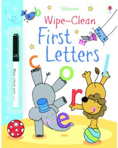 Base Image for WIPE CLEAN BOOK~FIRST LETTERS