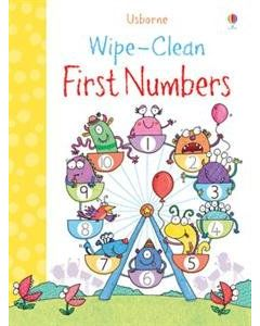 Small Image for WIPE CLEAN BOOK~FIRST NUMBERS