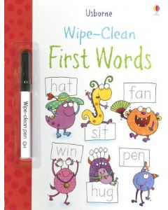 Small Image for WIPE CLEAN BOOK~FIRST WORDS