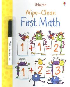 Small Image for WIPE CLEAN BOOK~FIRST MATH