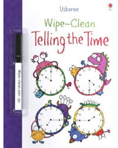 Small Image for WIPE CLEAN BOOK~TELLING TIME