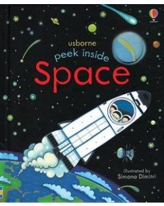 Small Image for PEEK INSIDE SPACE BOOK