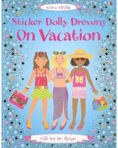 Small Image for DOLLY ON VACATION~STICKER DOLL