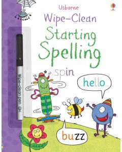 Small Image for WIPE CLEAN BOOK~START SPELLING