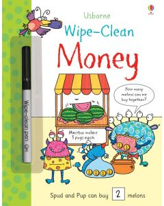 Small Image for WIPE CLEAN BOOK~MONEY
