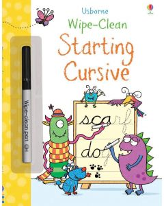 Small Image for WIPE CLEAN BOOK~START CURSIVE