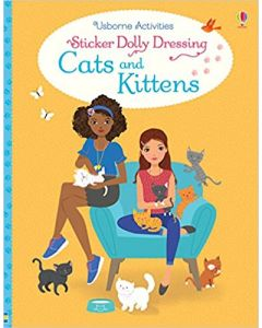 Small Image for DRESSING CATS & KITTENS~STICKE