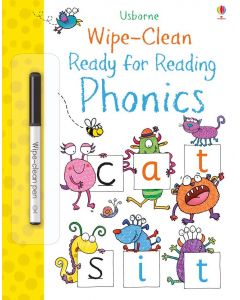 Base Image for WIPE CLEAN BOOK~READING PHONIC