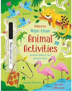 Base Image for WIPE CLEAN BOOK~ANIMAL ACTIVIT