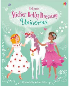 Small Image for UNICORNS~STICKER DOLLY BOOK