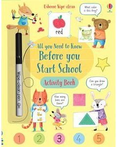 All You Need to Know BeforeYou Start School Activity Book