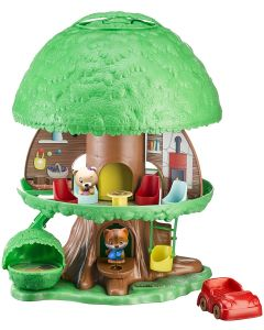 Small Image for TIMBER TOTS TREE HOUSE PLAY SE