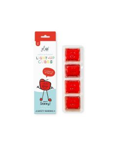 Glo Pals Sammy - Red Light Up Cubes