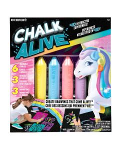 CHALK ALIVE UNICORNMERMAID & BUTTERFLY