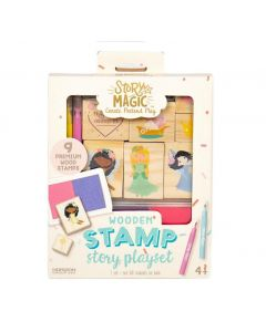 STORY MAGIC MINI WOODENSTAMP SET
