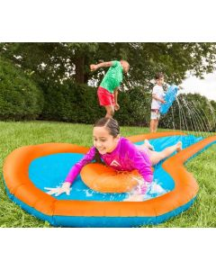 12 FOOT WATER SLIDE~WITH TWO SPEED BOARDS