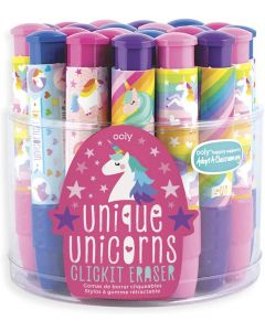 Small Image for CLICK IT UNICORNS ERASERS