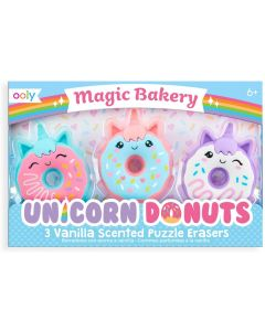 Small Image for UNICORN DONUT ERASERS