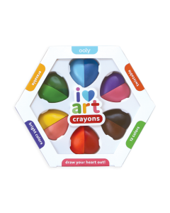 Small Image for I Heart Art~Erasable Crayons