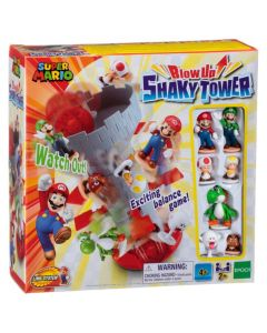 Super Mario Blow Up!Shaky Tower Game