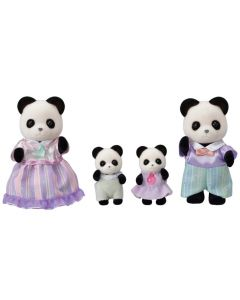 Calico CrittersPOOKIE PANDA FAMILY