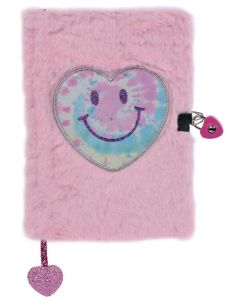 Heart Lock and Key Journal