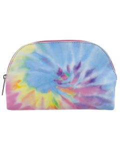 Small Image for TIE DYE OVAL COSMETIC BAG