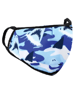 Small Image for KID MASK AGES 3-7~SHARK DESIGN