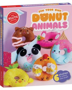 KLUTZ SEW DONUT ANIMALS