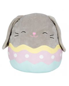Squishmallow Easter 12~Inch Easter Grey Bunny