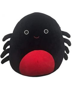 Squishmallow 12 Inch HalloweenBlack and Red Spider