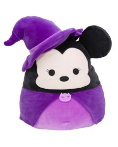 Squishmallow 8 Inch HalloweenDisney Minnie Mouse Witch