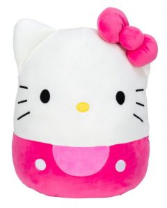 Squishmallow 8 InchHello Kitty Pink Kitty with Pink Bow