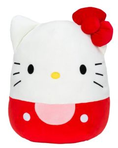 Squishmallow 8 InchHello Kitty Red Kitty with Red Bow