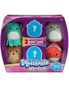 Squishville by SquishmallowMini 6 Pack
