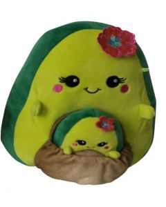 Squishmallow 8 Inch PocketAvocado with Flower